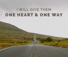 Ik wil hun 1 hart en 1 weg geven